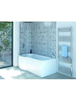 P Shape Bath Bath Screen And Bath Side Panel