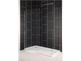 Glass Shower Enclosure Cubicle + Tray